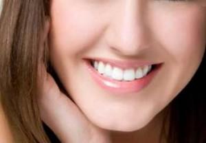 綺麗な歯並びの写真
